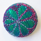 Fabric Badge One Inch Stitched Silk Badge