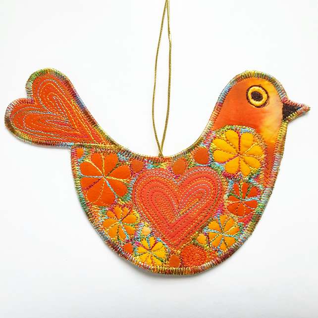 Love Bird Hanging Decoration