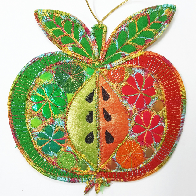 Hanging Apple Decoration