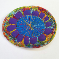 Textile Brooch