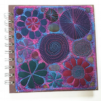 Sketchbook Textile Notebook Cover