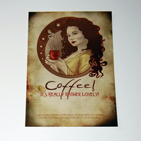 Postcard - Coffee!