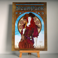SteamPunk - An Airship Pirates Poster