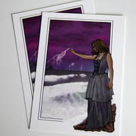 Postcard - The Storm Witch