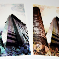 Postcards - Cityscapes