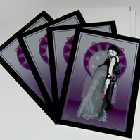 Halloween Cards - The Gorgon