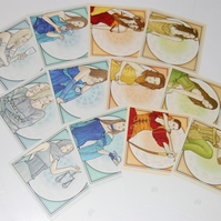 Cards - Zodiac Set Square