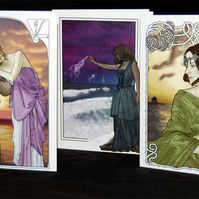 Cards - Art Nouveau Set