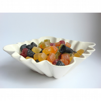REDUCED Square Ceramic Dish  Bowl inc INC P&P