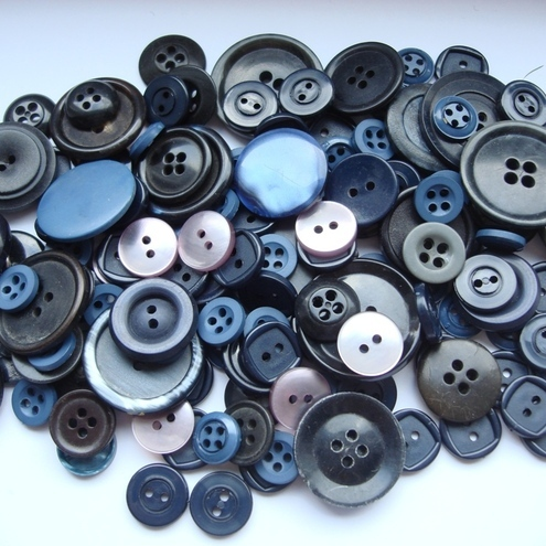 Blue & grey - various buttons