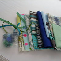 Crafty Inspiration pack blues & greens