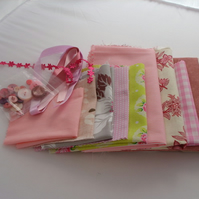 Crafty inspiraton pack in pink