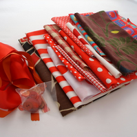 Crafty inspiraton pack in reds