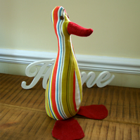 Funky Duck doorstop or shelf-sitter