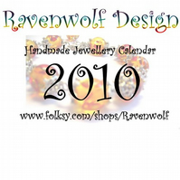 2010 Ravenwolf Design Calender - FREE when making a purchase from my shop