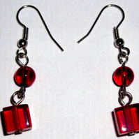 Red Red Red - Earrings