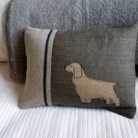 New little springer spaniel cushion