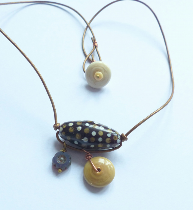 Earthy Trapeze Necklace