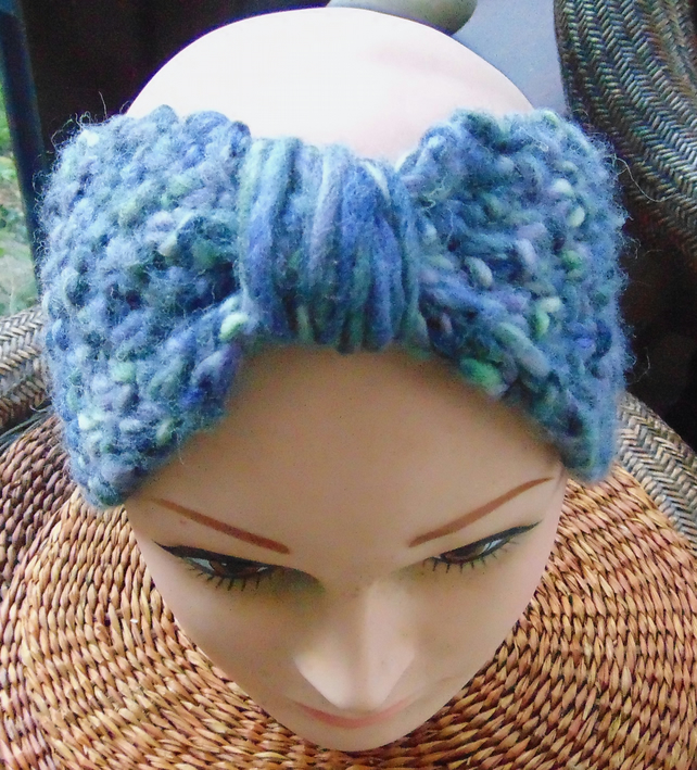 Hand Knitted Headband