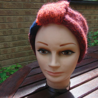 Hand Knitted Headband Turban