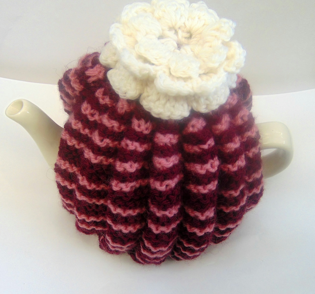 Small hand Knitted Tea Cosy
