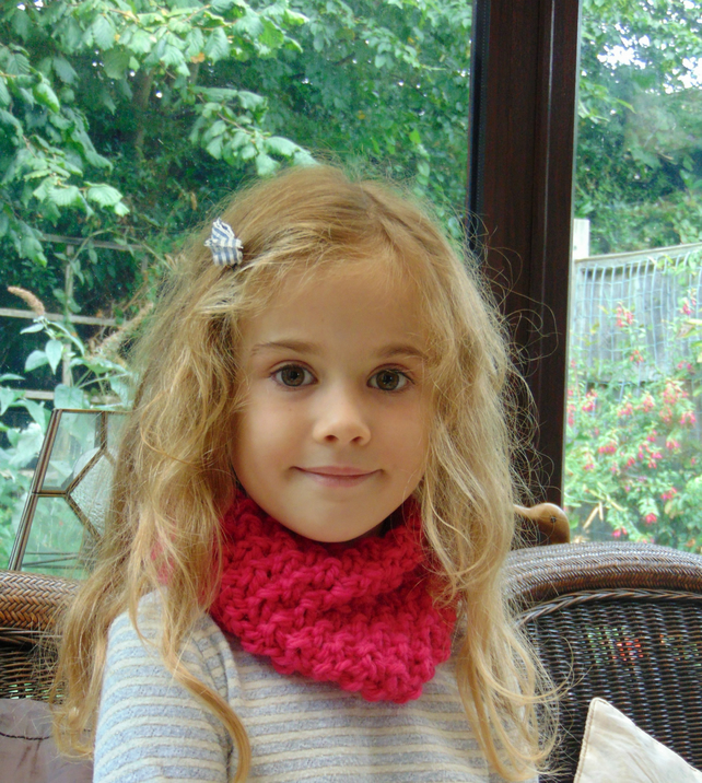 Childs Cowl ,Neckwarmer