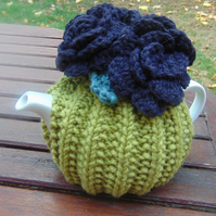 Hand Knitted Small Tea Cosy