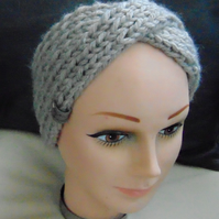 Hand Knitted  Headband  Ear warmer Turban