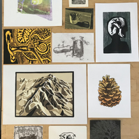 Collection of artist's proofs, slightly flawed or surplus prints (Lot 4)