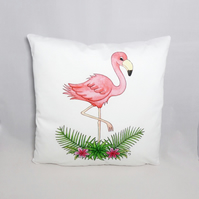 Flamingo Cushion Cover - Soft Cushion Cover - Flamingo Cushion