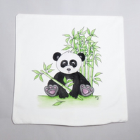Panda Cushion Cover - Soft Cushion Cover - Panda Cushion