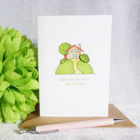 New Home Card - Little House