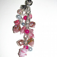 In The Pink Bag Charm or Keyring