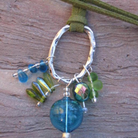 SALE - Still Waters Pendant Necklace