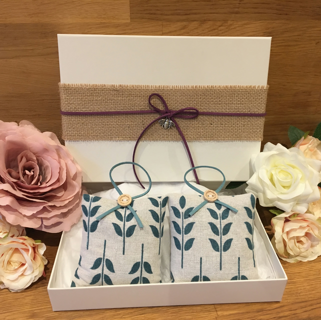 Lavender Scent Bag -Gift Set - Leaf
