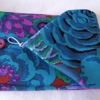 E Reader - Kindle Cover in Kaffe Fassett Bekah Cobalt Fabric