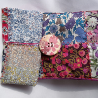Liberty Tana Lawn Patchwork Mobile Phone or Camera Case