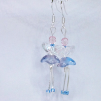 Sterling Silver Fairy Earrings!