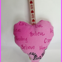 Padded Hanging Heart