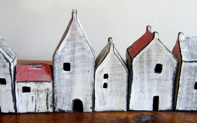 Houses for your house (set of 5)