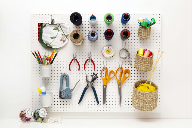 Peg Board UK for Crafts and Art