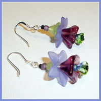 Elf Flower Drop Earrings