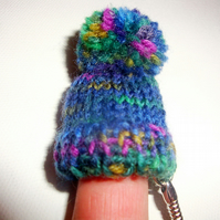 Tiny Bobble Hat Keyring