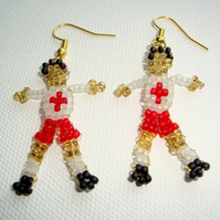 England Football Earrings