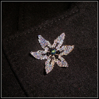 Aurora Flower Brooch