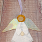 Angel Hanging Decoration with Iridescent Wings