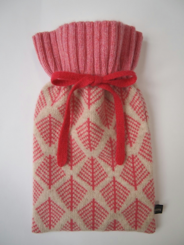 Cyclamen Pink Hot Water Bottle