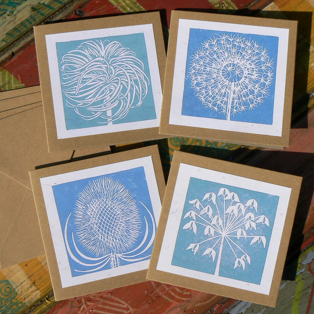 Seed Heads mini card pack