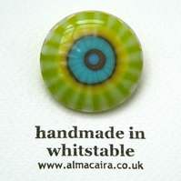 Fused Glass Brooch