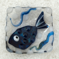Fused Glass Little Fish Bowl